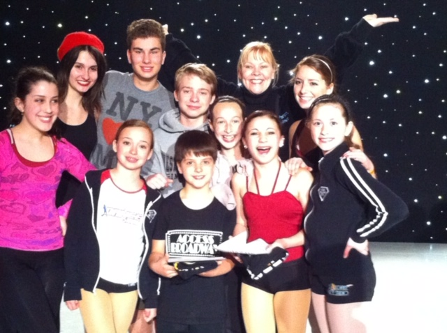 Alina Performing with Friends