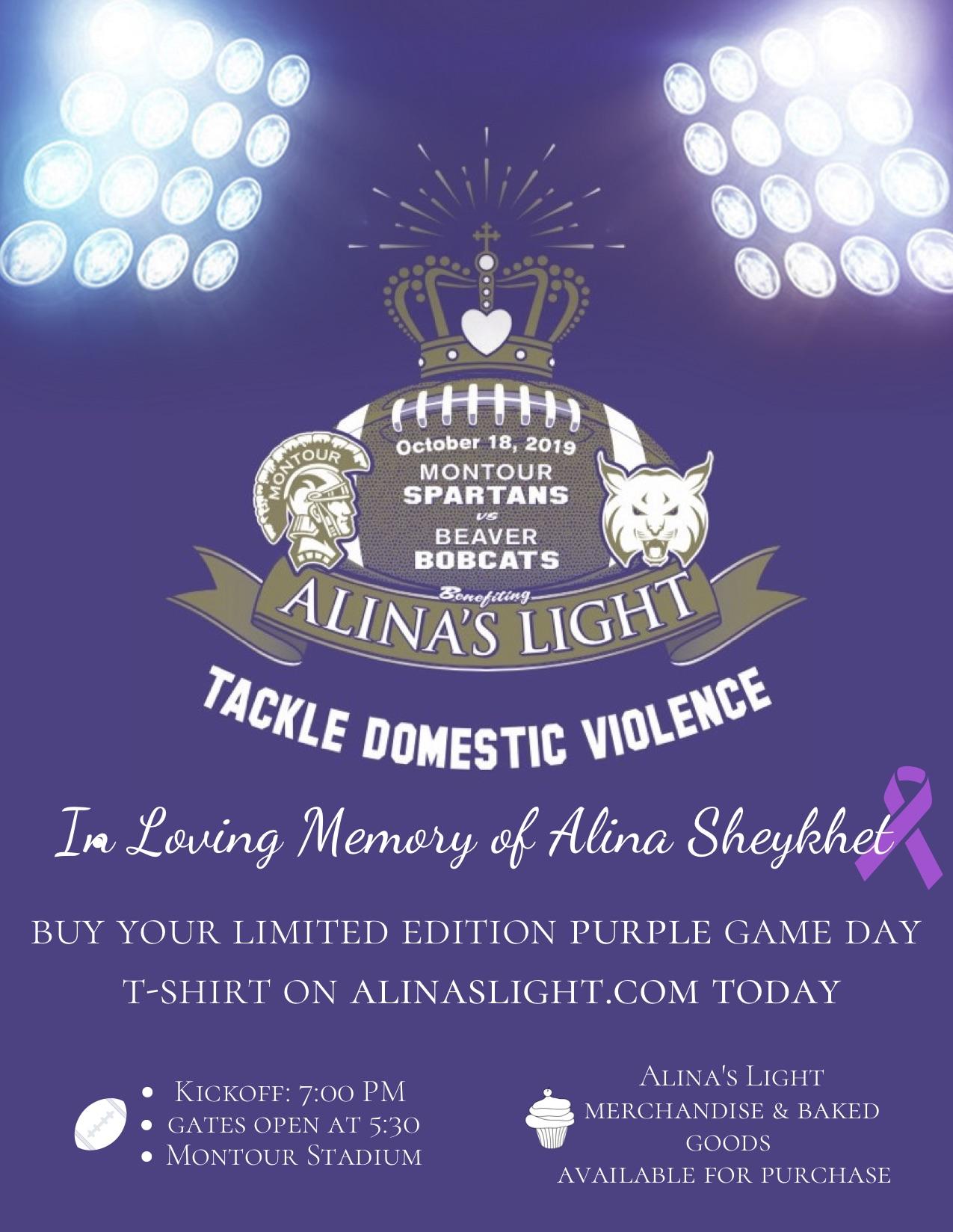 Tackle Domestic Violence 2019 Flyer