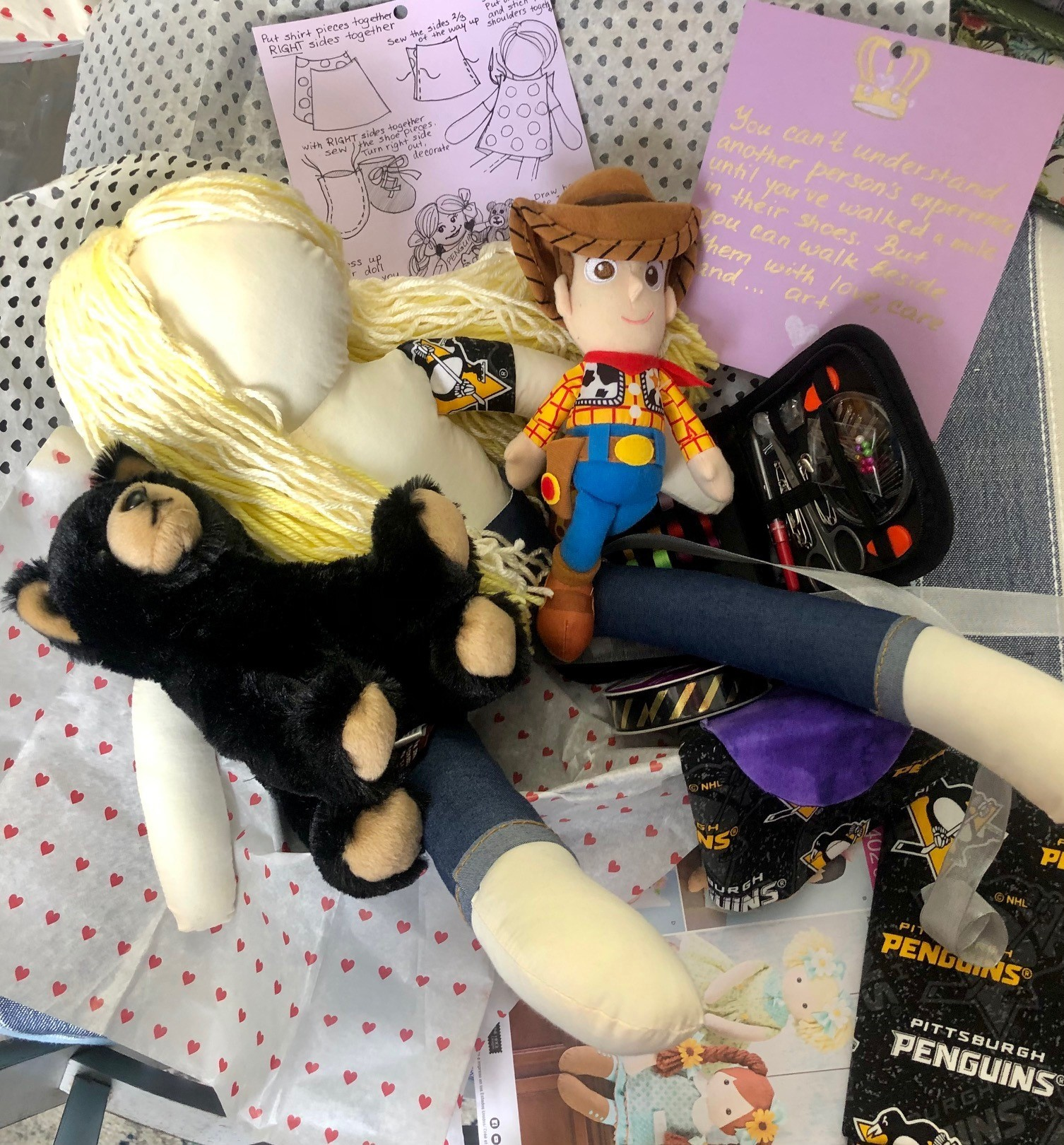 Amanda Doll With Personal Items
