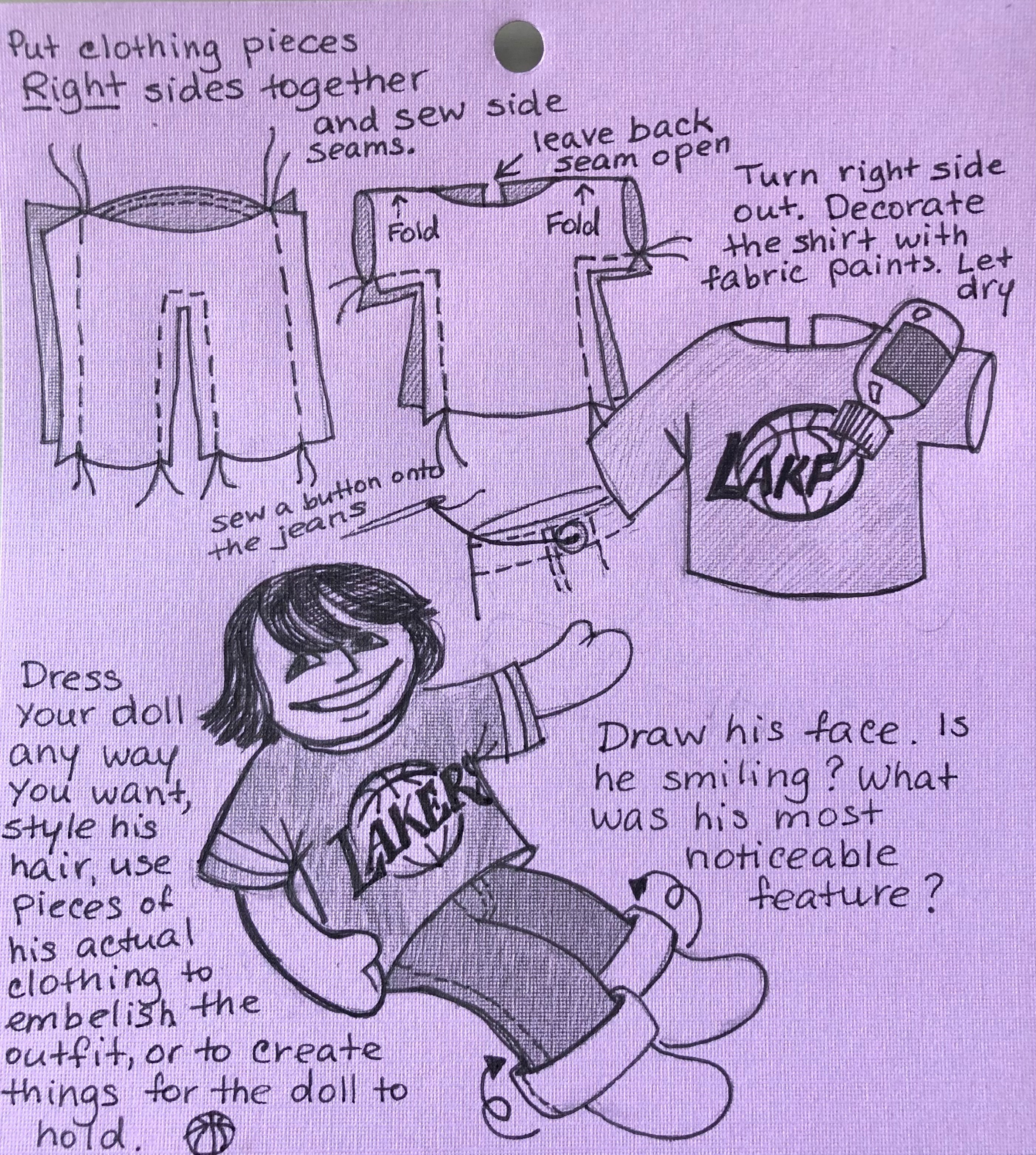 Doll Making Instructions